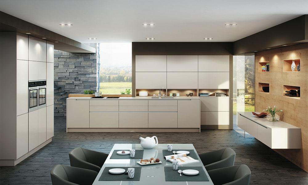 kuche ohne griffe kd kd kd kd alle kchen mit eine neue kche in ambiente he mit fronten in. Black Bedroom Furniture Sets. Home Design Ideas